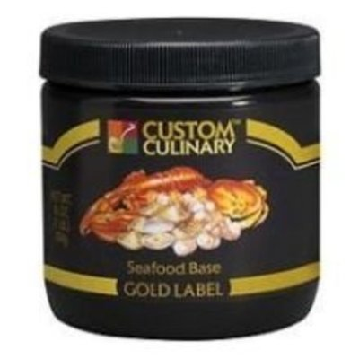 Custom Culinary Gold Label Base Seafood, 1 Pound