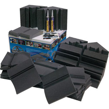 Auralex Project Studio Kit for Room Acoustics Charcoal