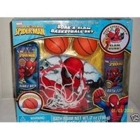 MZB Educational Products - Spiderman Soak & Slam Basketball Set - 1 hoop