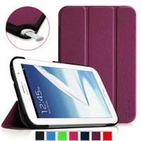 Fintie Ultra Slim Lightweight Stand Smart Shell Case Cover for Samsung Galaxy Note 8.0 Tablet, Blue