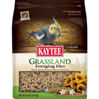 Kaytee Products Inc Bird Supplies Foraging Grassland Tiel 4Lb