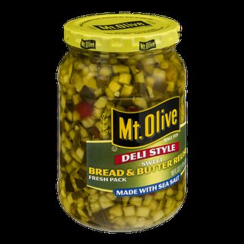 Mt. Olive Deli Style Bread & Butter Relish