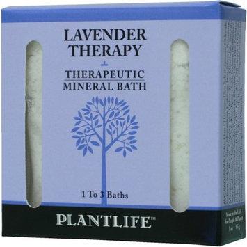 Plantlife Lavender Therapeutic Mineral Bath Salt - 3oz