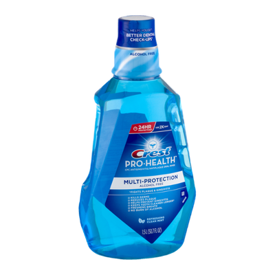 Crest Pro-Health Multi-Protection Oral Rinse Refreshing Clean Mint