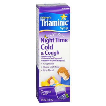 Triaminic Children's Nighttime Cold & Cough Syrup