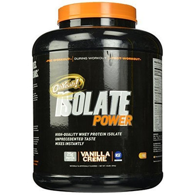 ISS Oh Yeah, Isolate Powder Vanilla Creme 4 lbs