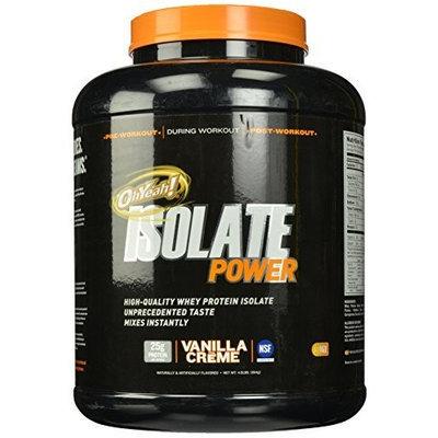 ISS Oh Yeah, Isolate Powder Vanilla Creme 4 lbs