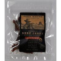 John Wayne Organic Beef Jerky Bar-B-Que, 0.19-Pounds (Pack of 4)