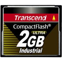 Transcend 2GB Industrial CompactFlash Ultra Memory Card