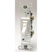 Leviton L02-1451-2W White Residential Grade AC Quiet Switches Toggle