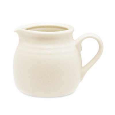 Noritake Dinnerware, Colorvara White Creamer