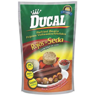 Goya Food Goya Ducal Red Silk Refried Beans 28 Oz