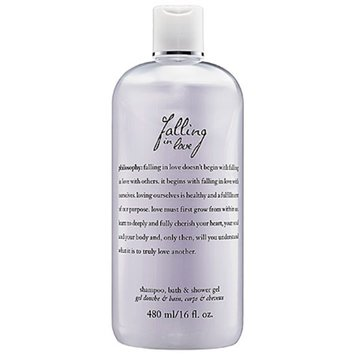 philosophy falling in love perfumed romantic shampoo