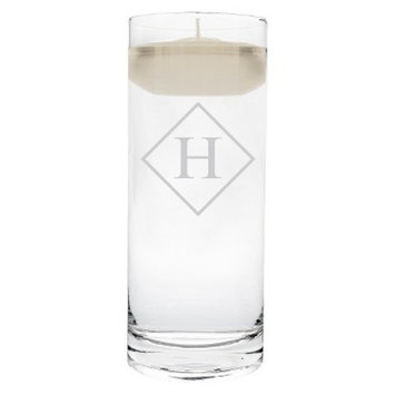 Cathy's Concepts Diamond Initial Floating Unity Candle H