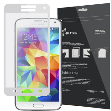 GalaxyS5-BF-White Samsung Galaxy S5 Smartphone Screen Protector White