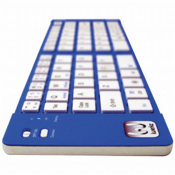 iWerkz Universal Foldable Bluetooth Keyboard, Blue, 1 ea