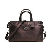 bags COACH RHYDER SATCHEL IN METALLIC TWO TONE LEATHER