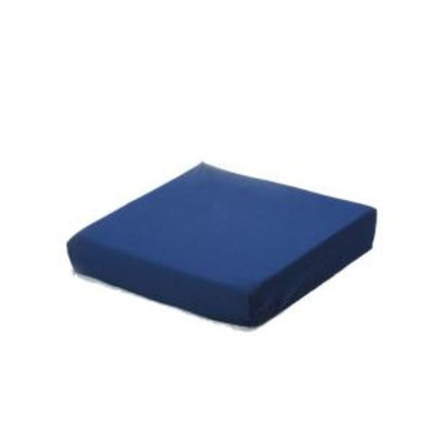 Rose Healthcare 16 in. x 18 in. x 3 in. Wheelchair Cushion in Blue