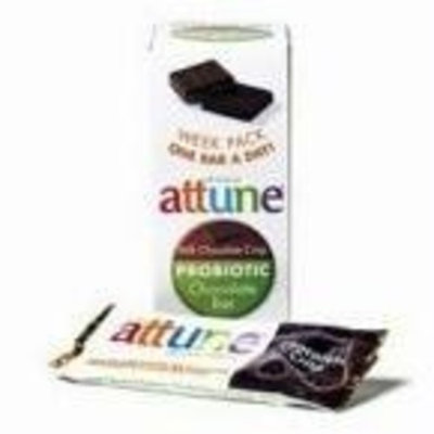 Attune Foods Chocolate Crisp Probiotic Bar (4x7x0.7 Oz)