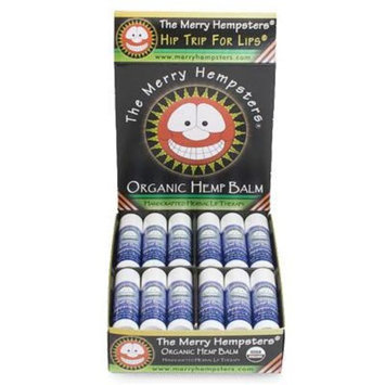 The Merry Hempsters Organic Hemp Lip Balm Peppermint 0.14 oz