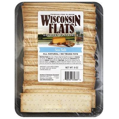 Generic Wisconsin Flats Sea Salt Gourmet Flatbread, 8 oz, (Pack of 10)