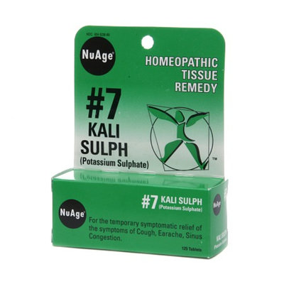 Nuage Labs #7 Kali Sulph (Potassium Sulphate) Tablets