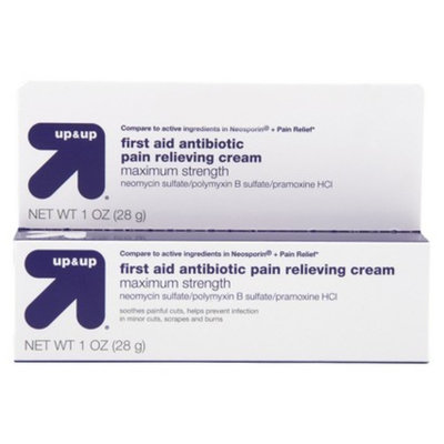 up & up up&up Maximum Strength First Aid Antibiotic Pain Relieving Cream - 1.