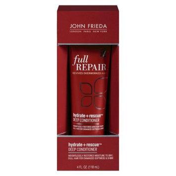 John Frieda Full Repair Hydrate & Rescue 4 oz Deep Conditioner