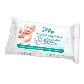 BabySpa Ultra-Soft Biodegradable & Natural Baby Wipes, Fragrance Free, 72 ct