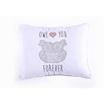 Levtex Baby Owl Love You Forever Pillow