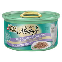 Purina Fancy Feast Fancy Feast Elegant Medleys Wild Salmon Florentine Wet Cat Food - 3 oz