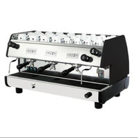 La Pavoni 22L Commercial Volumetric Espresso Machine (Black)