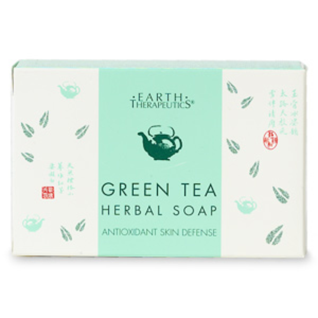 Earth Therapeutics Green Tea Herbal Soap