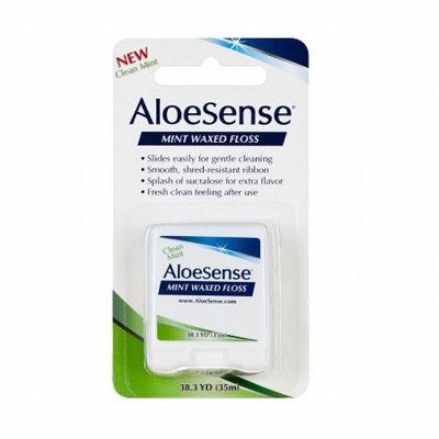 AloeSense Mint Waxed Floss