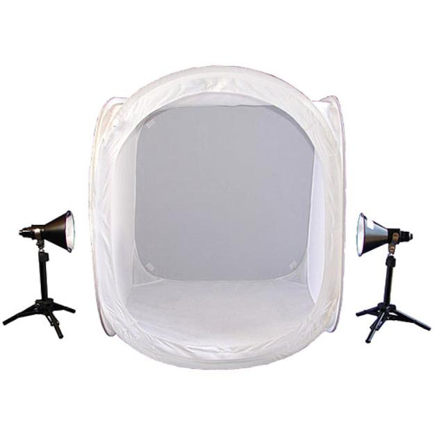 Lumiere L.A. Lumiere L60230 Portable Photo Studio Cube - 32