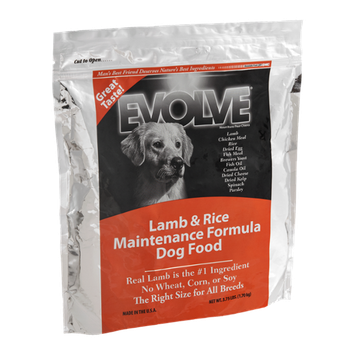Evolve Dog Food Maintenance Formula Lamb & Rice