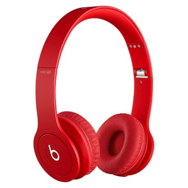 BEATS by Dr. Dre Beats by Dre Solo HD Drenched in Red