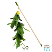 Martha Stewart PetsA Feather Tree Teaser Holiday Cat Toy