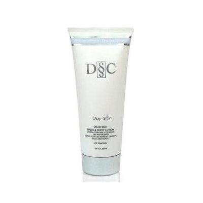 Deep Sea Cosmetics DSC Dead Sea Hand Body Lotion DEEP BLUE Fragrance