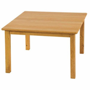 Ecr4kids 30 Square Hardwood Table with 22 Legs