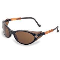 Harley Davidson Harley-Davidson HD102 Limited Edition Safety Glasses with Black Frames and Expresso Tint Hardcoat Lens