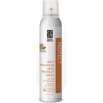 Salon Grafix 450 Degree Maximum Heat Protect Spray, 4 Ounce