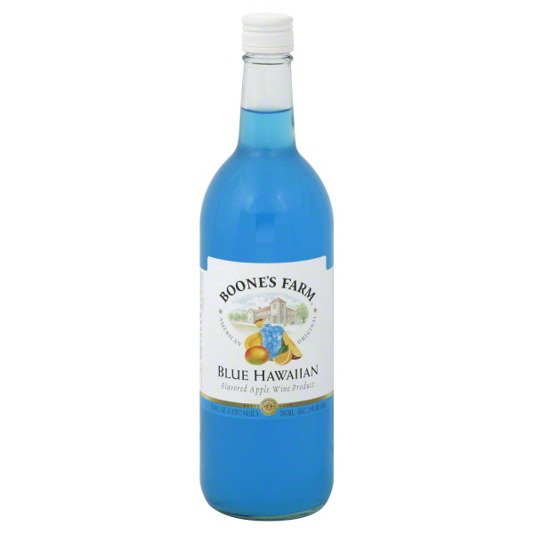Boone's Farm Apple Wine Product Blue Hawaiian