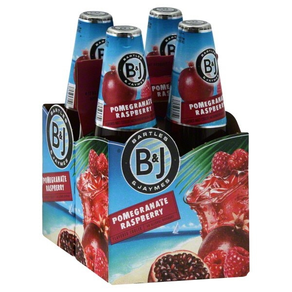 Bartles Jaymes Wine Coolers Pomegranate Raspberry