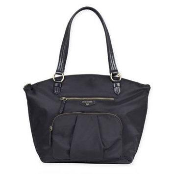 TWELVElittle Allure Dome Satchel Diaper Bag - Black
