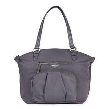 TWELVElittle Allure Dome Satchel Diaper Bag - Gray