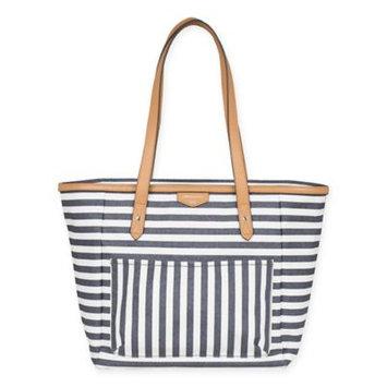 TWELVElittle Everyday Tote Diaper Bag - Stripe Print