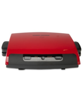 Applica George Forman GRP95R 6 Serving Removable Plate Grill - Red