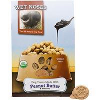 Wet Noses Peanut Butter Molasses Dog Treats - 14 oz.