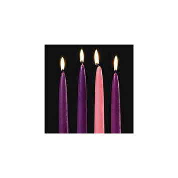 Emkay Abbey Press 70374 10 x.75 Replacement Candles - Set of four
